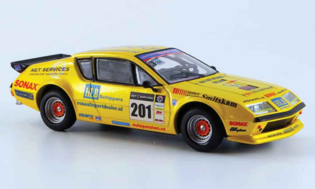 Alpine A310 V6 1/43 Eligor no.201 eq. jaronn lawson 2008 miniature