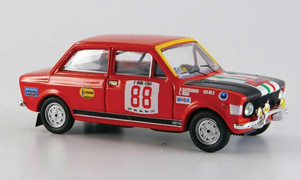 Fiat 128 1/43 Rio Rallye Elba No.88 Snatacroce 1972 miniature