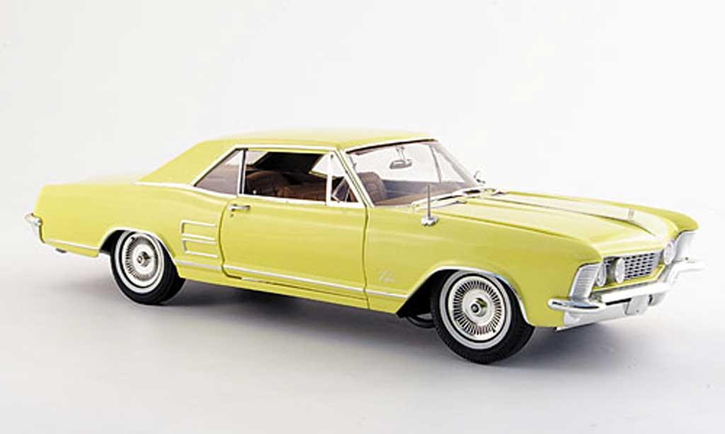 Buick Riviera 1964 1/18 Highway 61 jaune miniature
