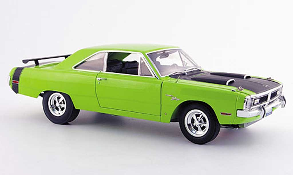 Dodge Dart 1970 1/18 Highway 61 swinger 440 grun miniature