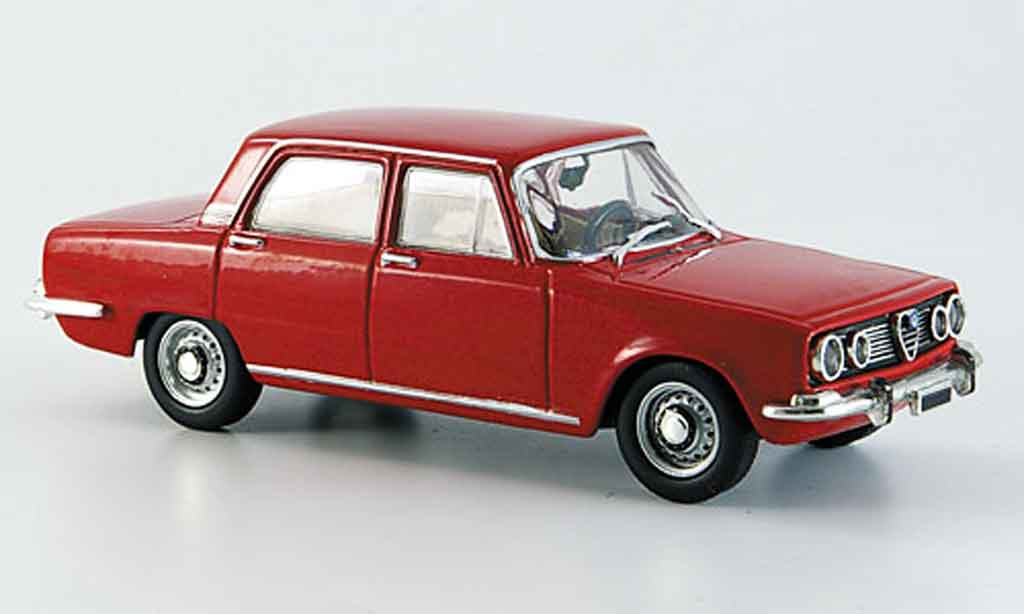 Alfa Romeo 1750 GTV 1/43 Starline red 1968 diecast model cars