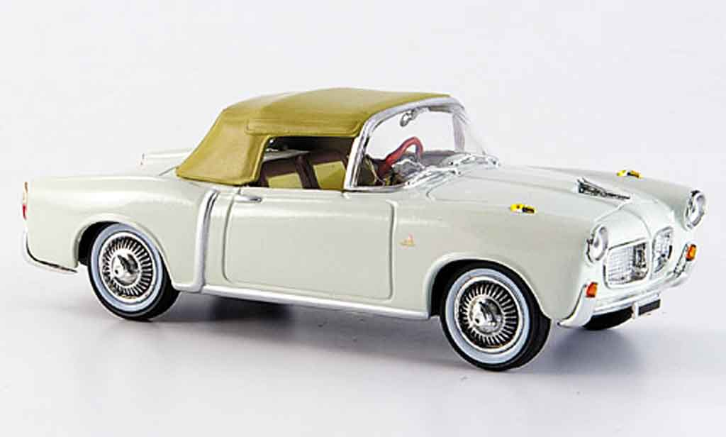 Fiat 1100 1959 1/43 Starline TV blanche miniature