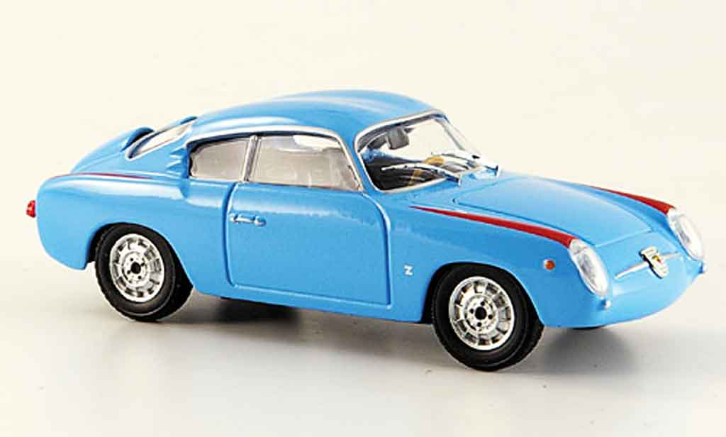 Fiat 750 1/43 Starline Abarth bleu 1956 miniature