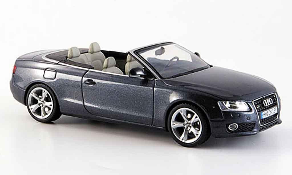 Audi A5 1/43 Schuco A5 Cabriolet grise