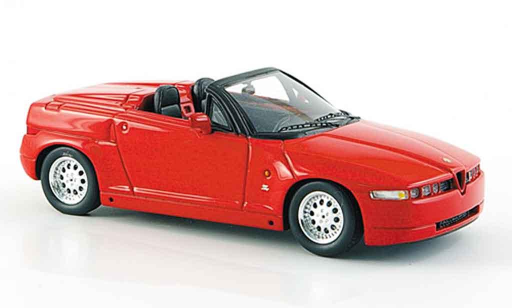 Alfa Romeo RZ 1/43 Spark red 1992 diecast model cars