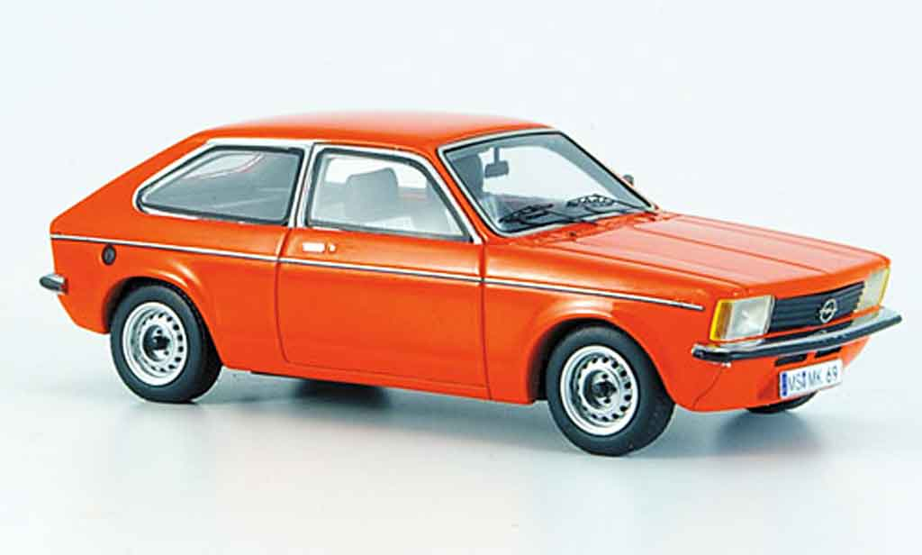 Opel Kadett C 1/43 Neo city rouge 1978 miniature