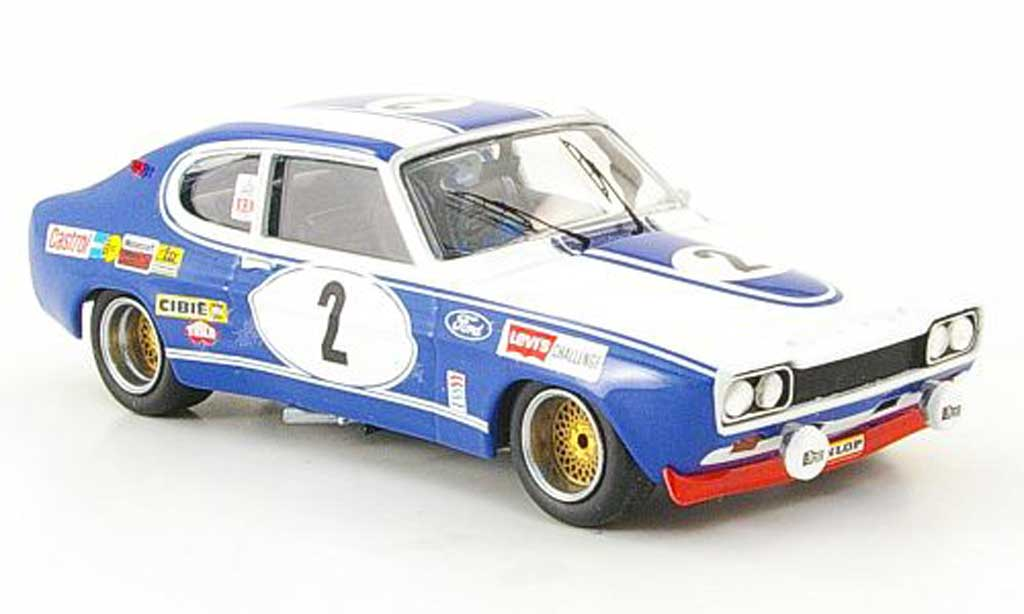 Ford Capri 2600 1/43 Trofeu Sieger Spa 1972 miniature
