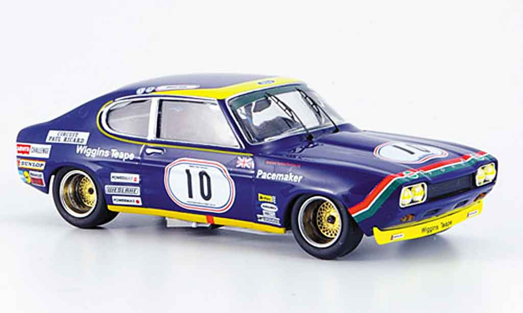 Ford Capri 2600 1/43 Trofeu No.10 Sieger Paul Ricard 1972 miniature