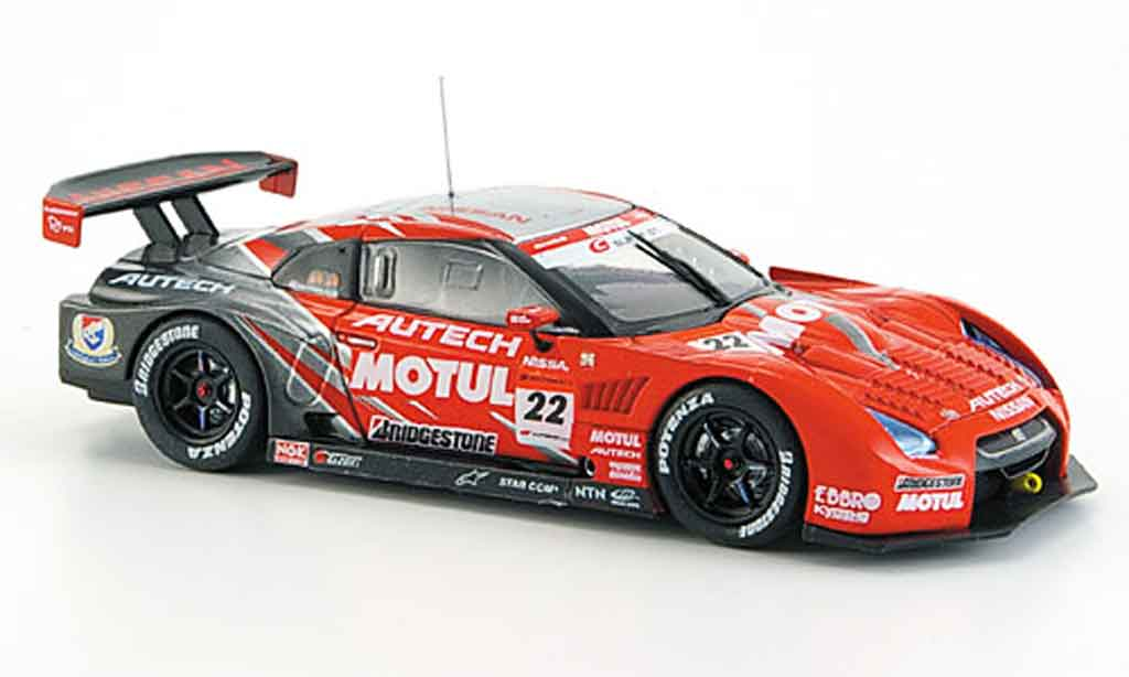 Nissan Skyline R35 1/43 Ebbro JGTC GT R Motul Autech No.22 Fuji Super GT 2008 diecast model cars