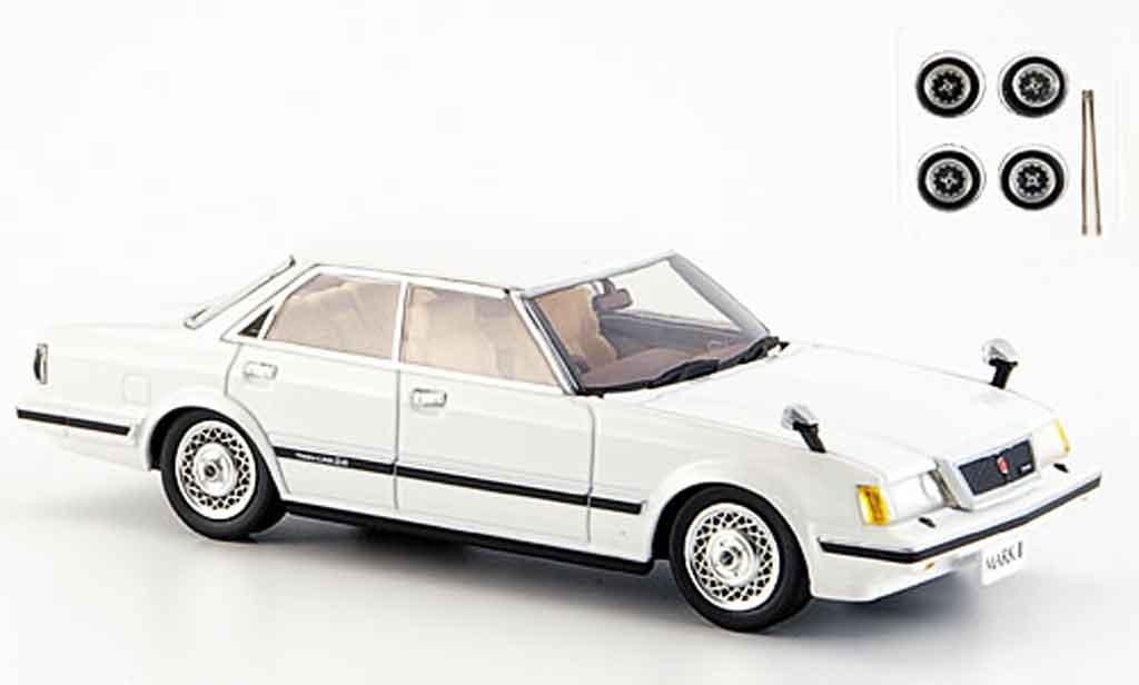 Toyota Mark 1/43 Aoshima ii blanche grande twincam24 1982 miniature