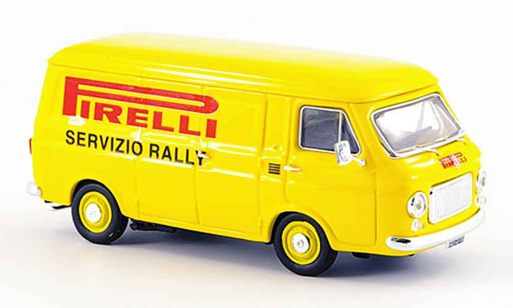 Fiat 238 1/43 Rio Pirelli Rennservice 1971 diecast model cars