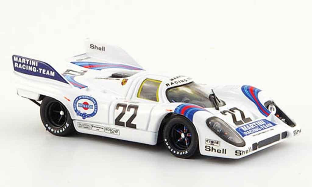 Porsche 917 1971 1/43 Brumm No.22 Martini Sieger 24h Le Mans miniature