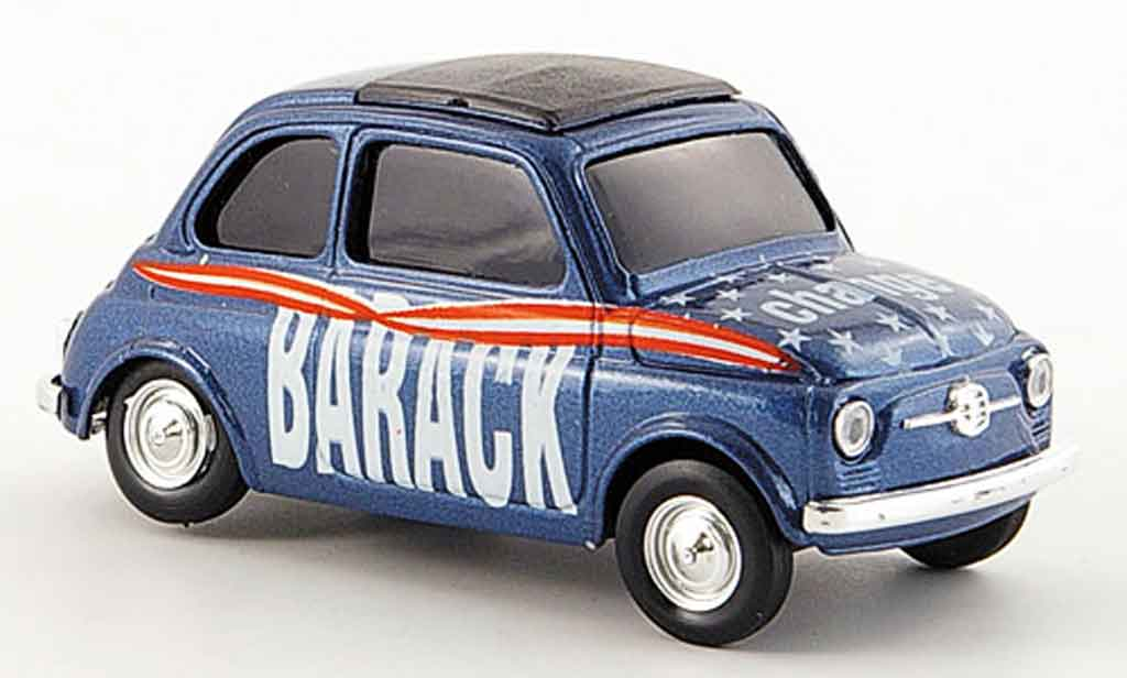 fiat 500 miniature barack change brumm 1 43 voiture. Black Bedroom Furniture Sets. Home Design Ideas