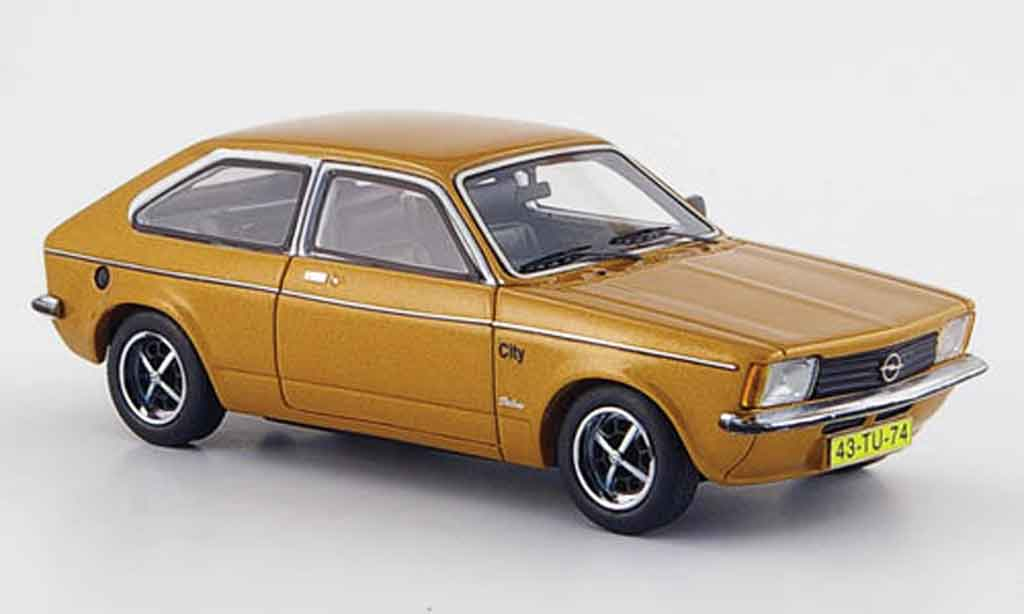 Opel Kadett C 1/43 Neo city berlinor 1978 miniature