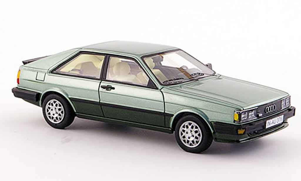 Audi Coupe GT 1/43 Neo verte 1981 miniature