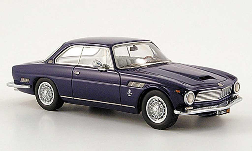 ISO Rivolta 1/43 Neo GT noire-bleu 1962 miniature