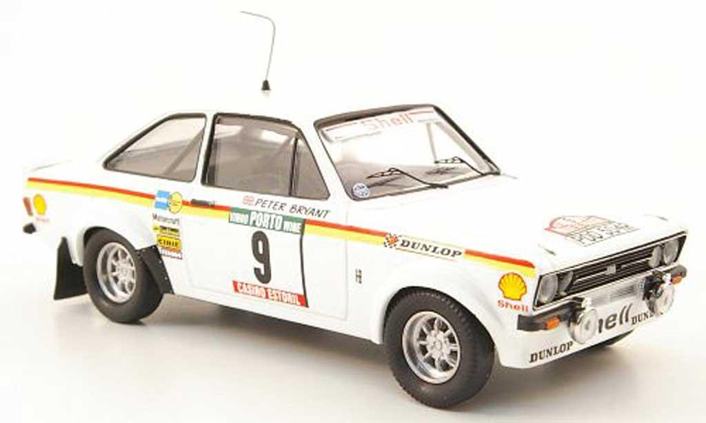 Ford Escort RS 1800 1/43 Trofeu No.9 S Rally Portugal 1977 diecast model cars