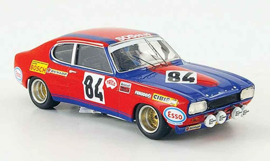 Ford Capri 1/43 Trofeu MK I 2600 No.84 24h Le Mans 1972 miniature