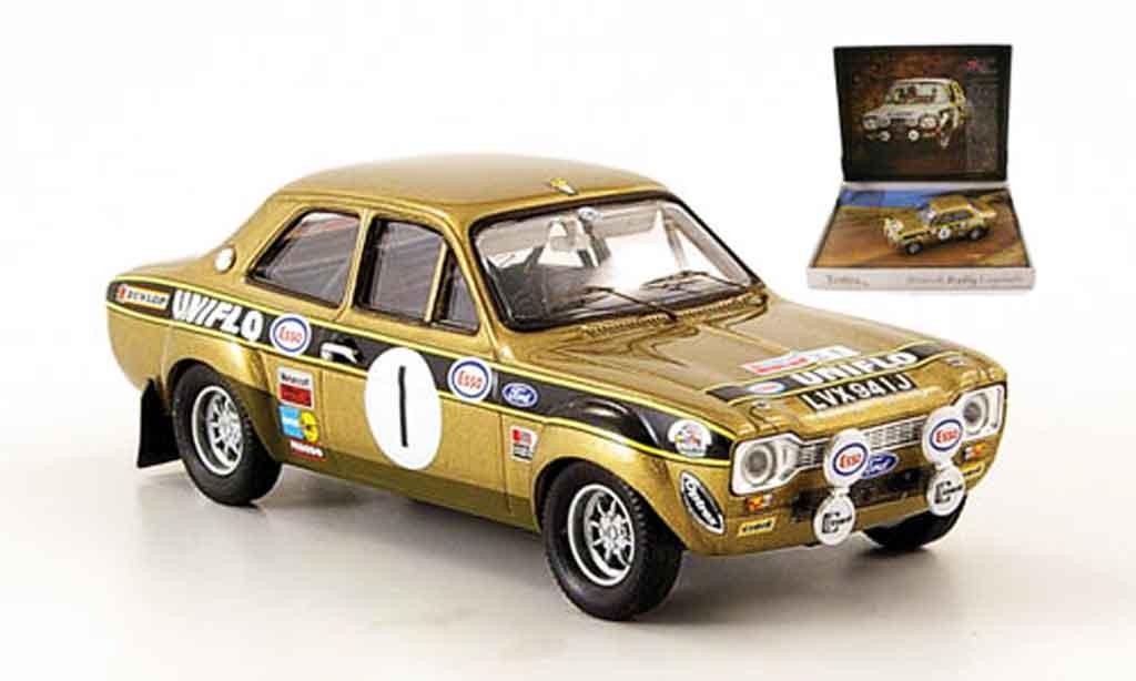 Ford Escort MK1 1/43 Trofeu No.1 Uniflo Sieger Dunkeries Rally 1972 miniature