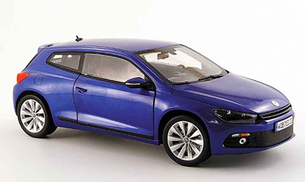 volkswagen scirocco 3 blau 2008 norev modellauto 1 18 kaufen verkauf modellauto online. Black Bedroom Furniture Sets. Home Design Ideas