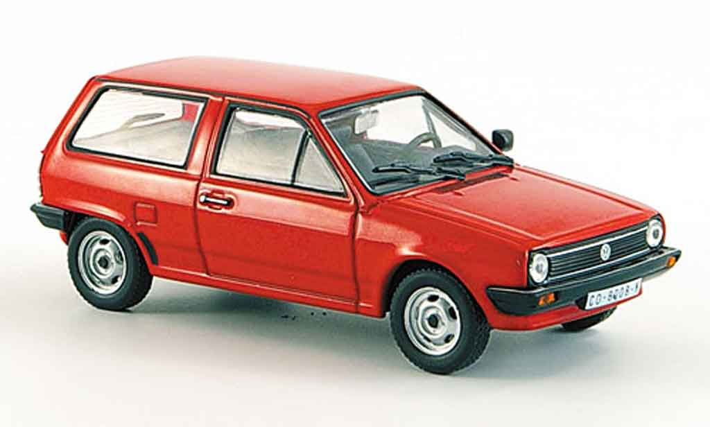 volkswagen polo miniature ii rouge whitebox 1 43 voiture. Black Bedroom Furniture Sets. Home Design Ideas