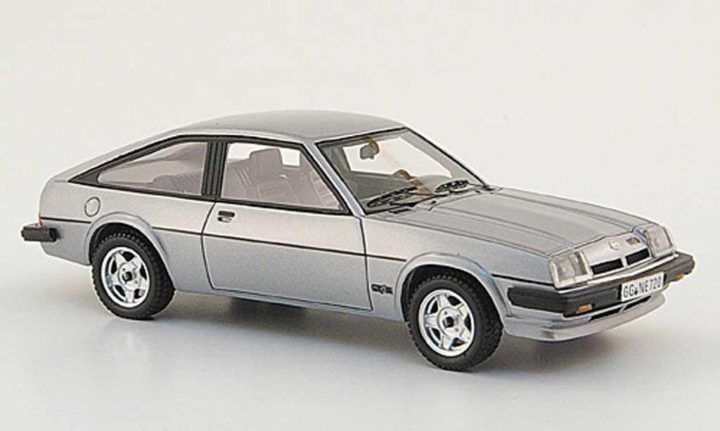 Opel Manta B 1/43 Neo CC GT/E grise 1980 miniature