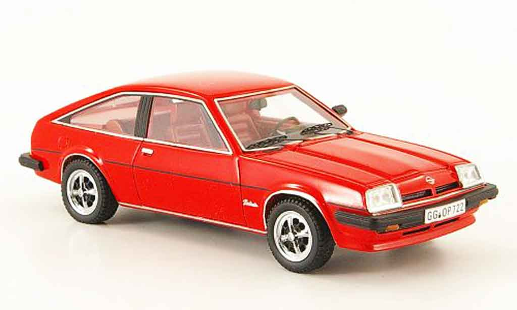 Opel Manta B 1/43 Neo cc berlinettrouge 1980 miniature