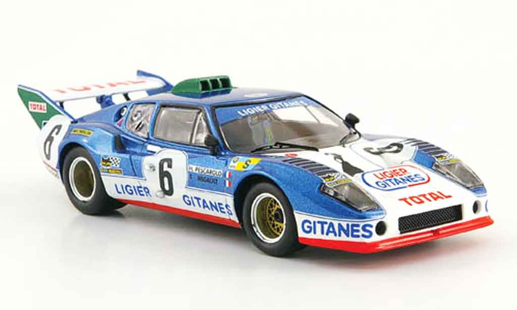 Ligier JS2 1/43 IXO Ford No.6 Total 24h Le Mans 1975 miniature