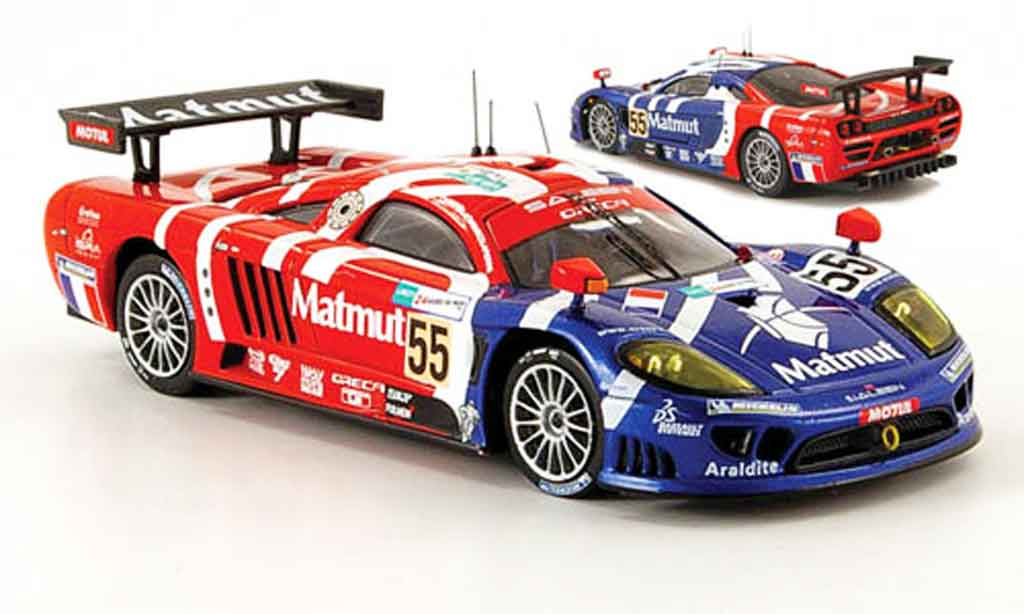 saleen s7r 2007 miniature matmut 24h le mans ixo 1 43 voiture. Black Bedroom Furniture Sets. Home Design Ideas