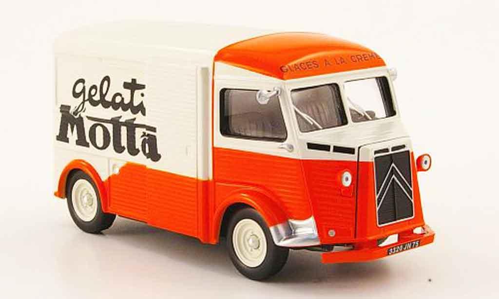 Citroen Type HY 1/43 IXO kastenwagen gelati motta 1962 miniature