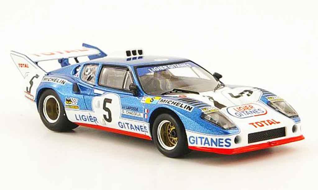 Ligier JS2 1/43 IXO No.5 Total 24h Le Mans 1975 miniature