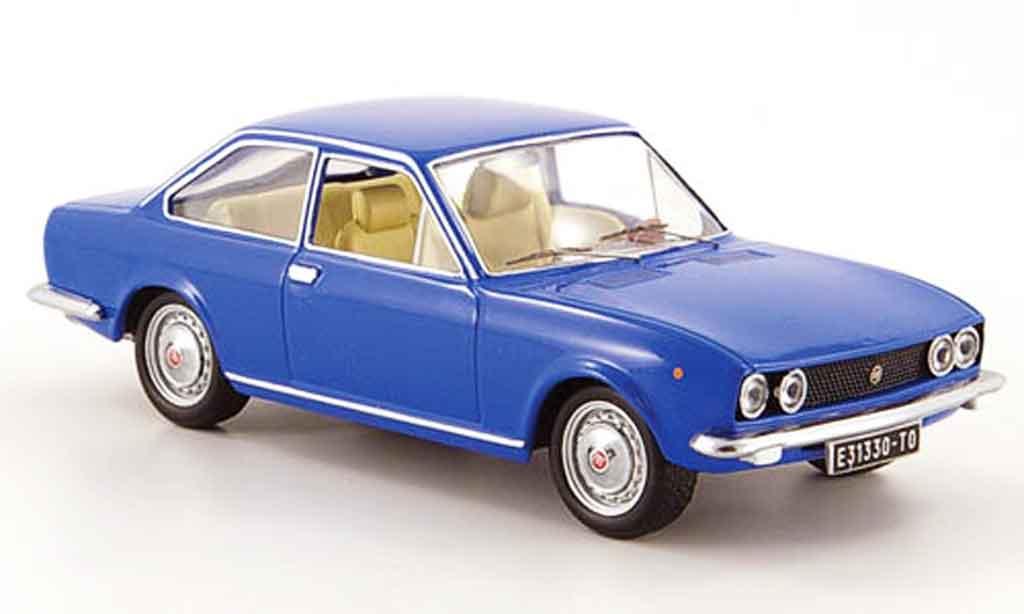 Fiat 124 1/43 IXO Coupe bleu 1971