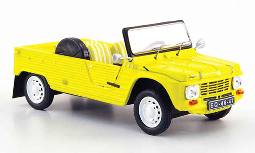 Citroen Mehari 1/43 IXO plage yellow 1983 diecast model cars