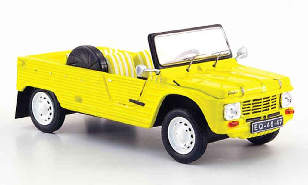 Citroen Mehari plage amarilo 1983 IXO. Citroen Mehari plage amarilo 1983 coches miniaturas 1/43