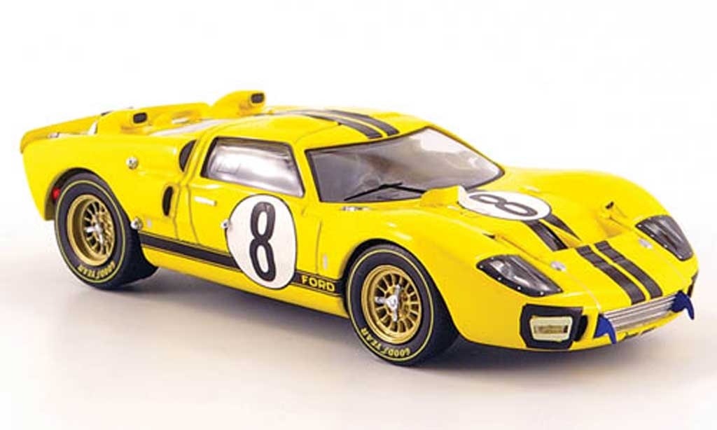 Ford GT40 1/43 IXO GT 40 MK II No.8 Whitemore/Gardner 24h Le Mans 1966 miniature