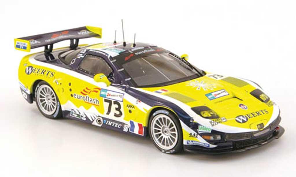 Chevrolet Corvette C6 1/43 IXO R No.73 24h Le Mans 2007 modellautos