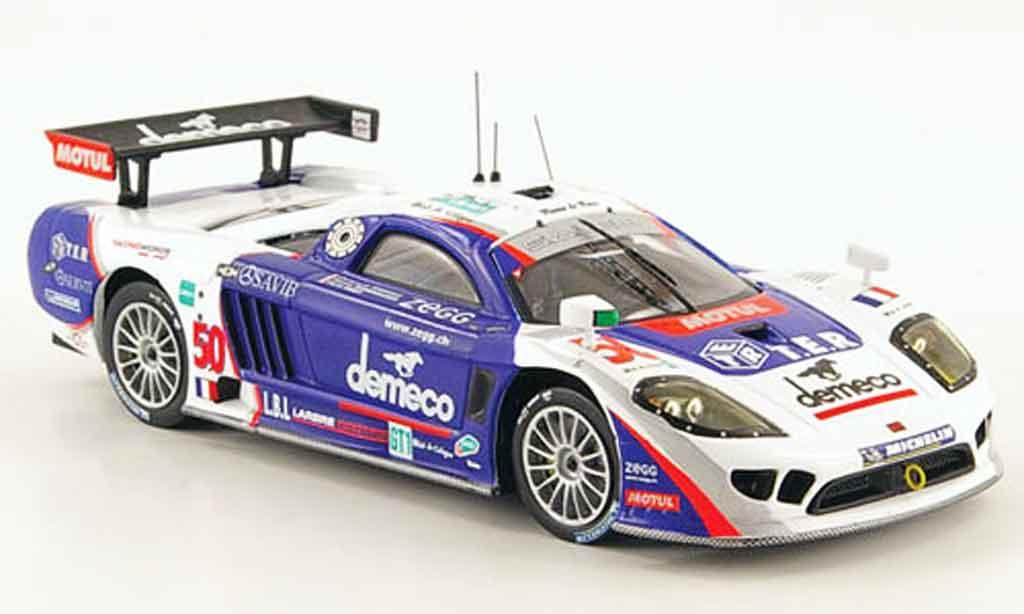 Saleen S7R 2008 1/43 IXO No.50 Demeco 24h Le Mans miniature