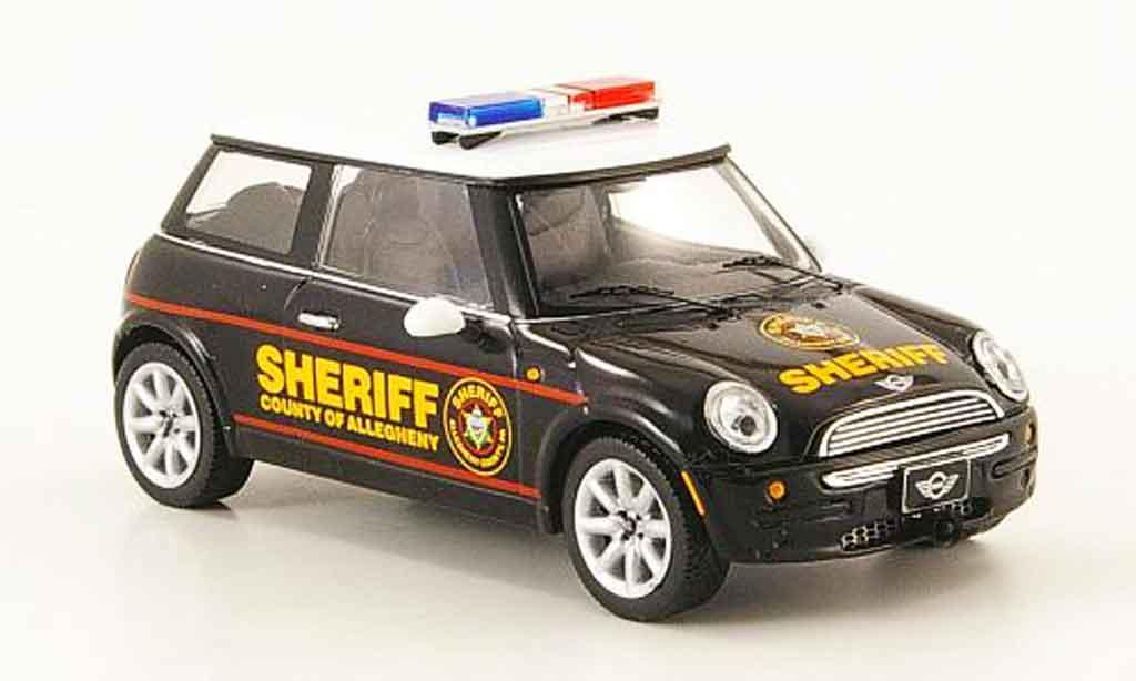 Mini Cooper D 1/43 IXO Allegheny County Sheriffs police 2004 miniature
