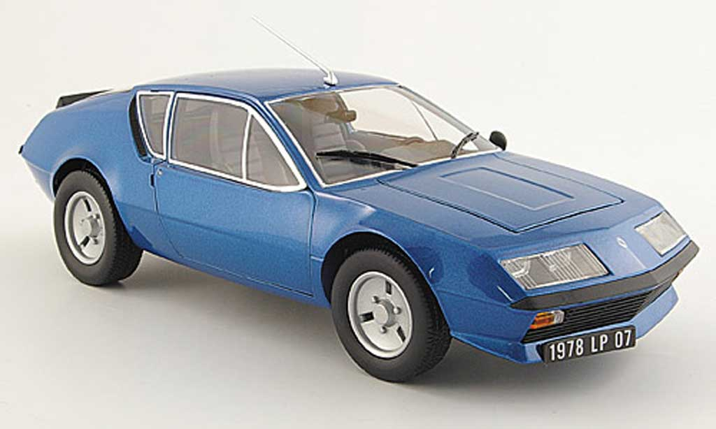 renault alpine a310 miniature v6 bleue 1978 maisto 1 18 voiture. Black Bedroom Furniture Sets. Home Design Ideas
