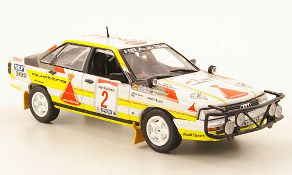 Audi 200 quattro 1/43 Norev No.2 Safari Rally Kenya 1987 miniature