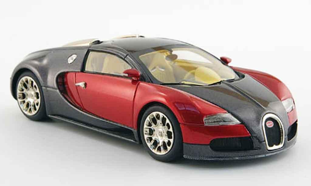 Bugatti Veyron 16.4 1/43 Look Smart anthrazit rouge 2008 miniature