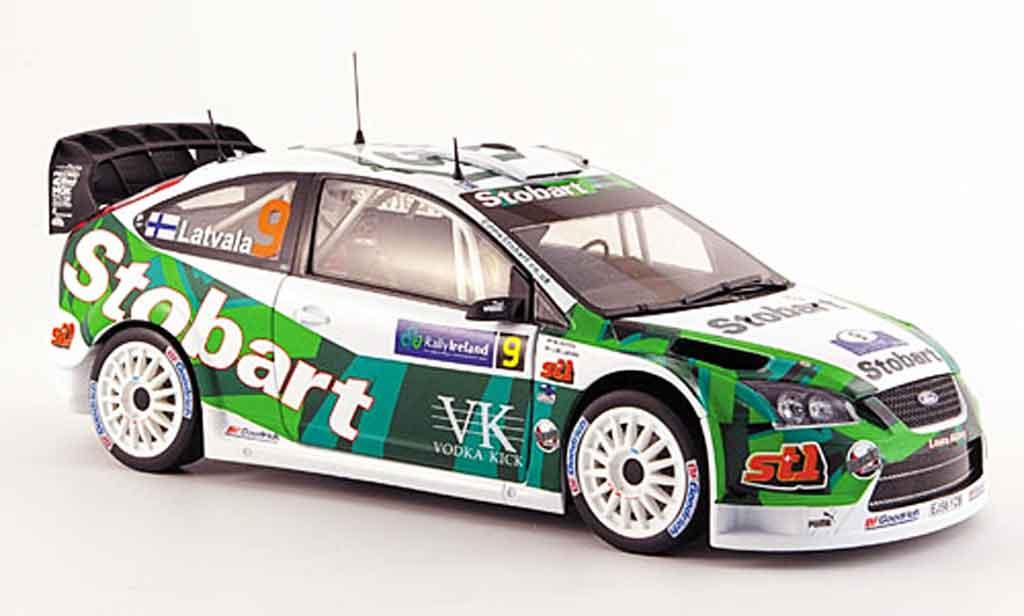 Ford Focus RS WRC 1/18 Sun Star no.9 dritter platz rallye irlande 2007 miniature