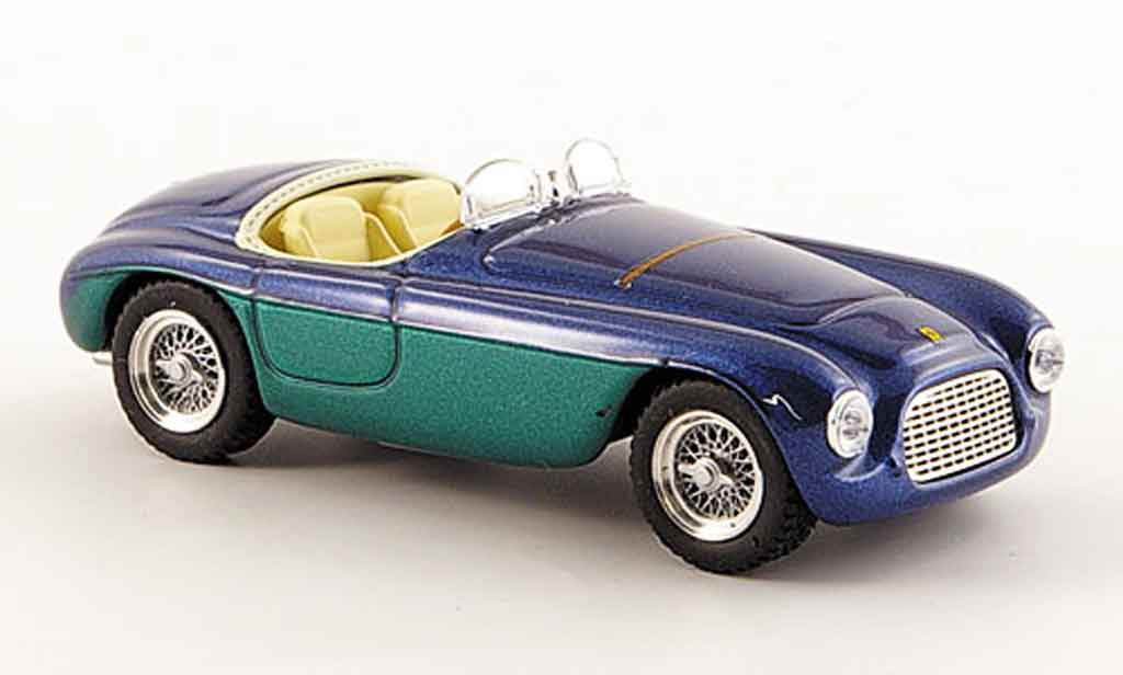 Ferrari 166 1950 1/43 Art Model MM barchetta touring bleu verte miniature