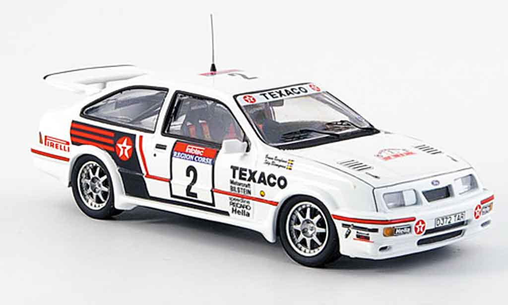 Ford Sierra Cosworth RS 1/43 Trofeu Cosworth No.2 Texaco Tour de Corse 1987 miniature