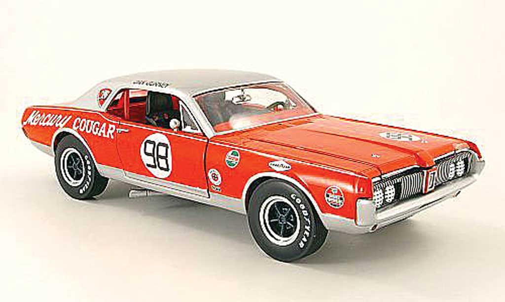 Mercury Cougar 1/18 Sun Star no.98 dan gurney 1967 miniature