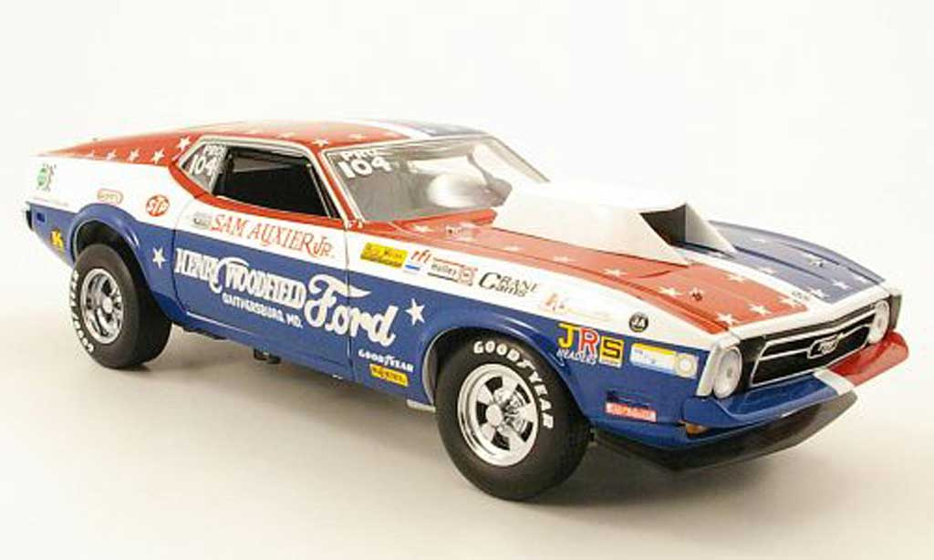 Ford Mustang 1971 1/18 Sun Star pro stock the ultimate diecast model cars