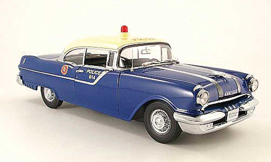 Pontiac Star Chief 1/18 Sun Star hard top county of nassau n.y.,polizei 1955