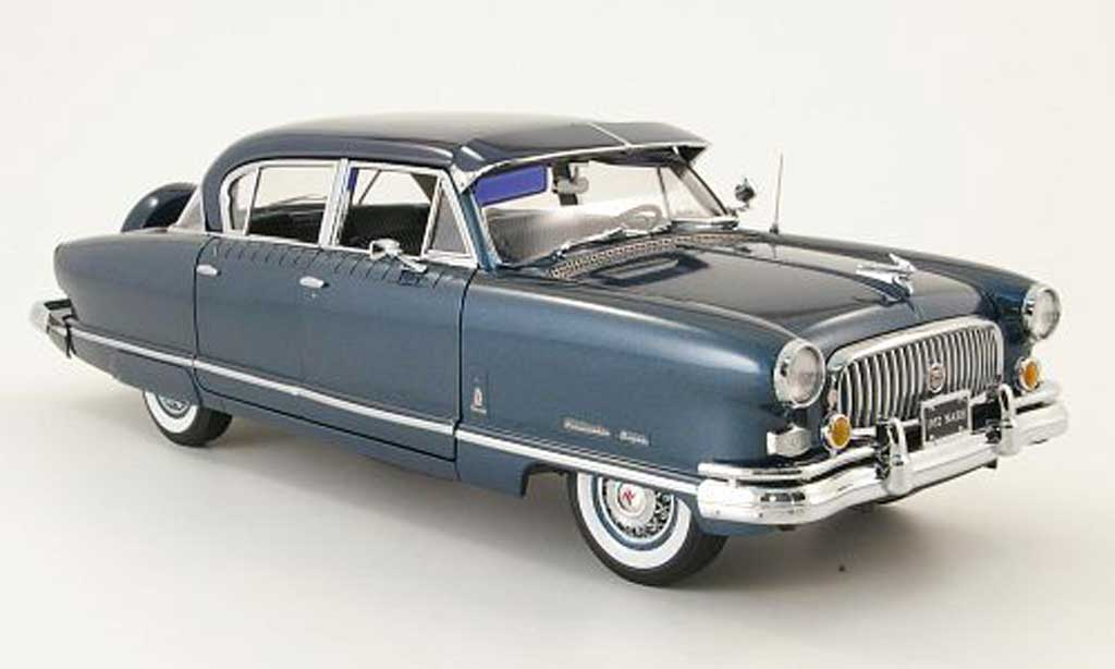 Nash Ambassador 1/18 Sun Star airflyte bleu/bleu 1952 modellautos