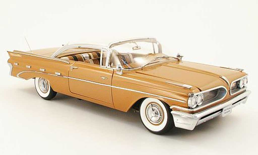 Pontiac Bonneville 1/18 Sun Star hardtop marron/beige 1959 miniature
