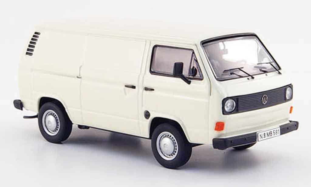 Volkswagen Combi 1/43 Premium Cls t 3a kastenwagen cremeblanche 1980 miniature